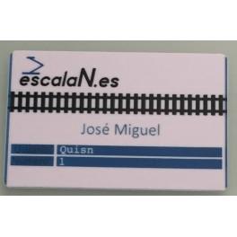 Tarjeta de Identificación EscalaN.es